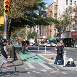Visually impaired in New York worried about cyclists